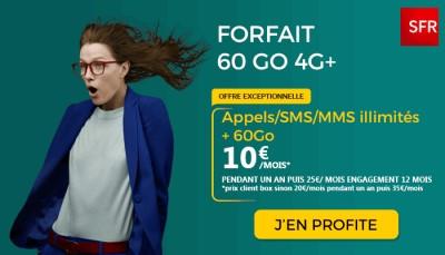 Forfait SFR 60Go promo