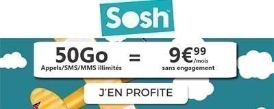 Forfait SOSH 50Go