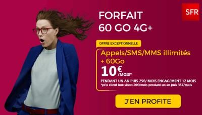 Forfait SFR 60Go