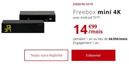 Freebox Mini 4K promo