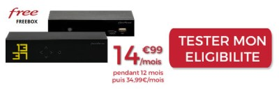 Freebox Mini 4K FIbre à 15€