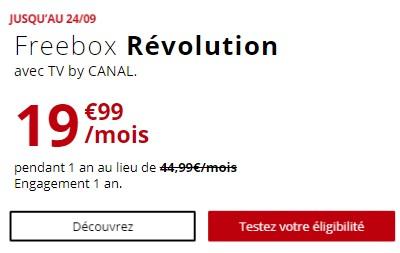 Freebox Revolution promo