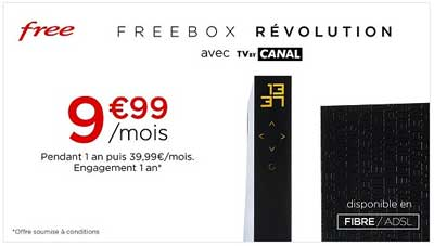 vente privee freebox promo