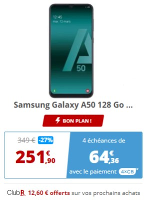 Galaxy A50 promo Rakuten