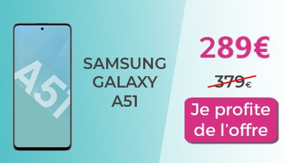 Galaxy A51  RED