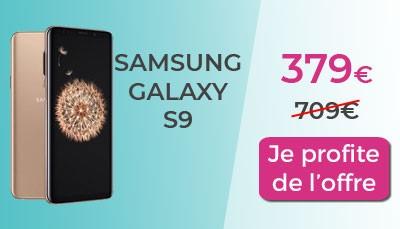 Galaxy S9 Cdiscount promo