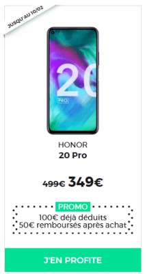 Honor 20 pro RED SOLDES