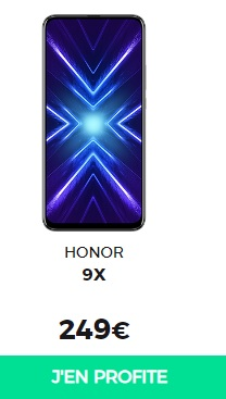 honor 9x red by sfr