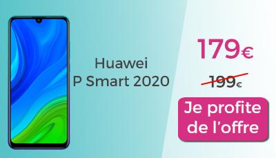 huawei p 2020 en promo chez red