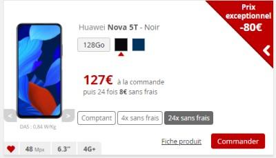 Huawei Nova 5T Free