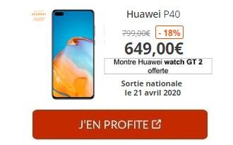 Huawei P40 Boulanger