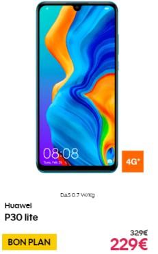 Huawei P30 Lite soldé chez orange et sosh