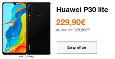 Huawei P30 Lite Orange