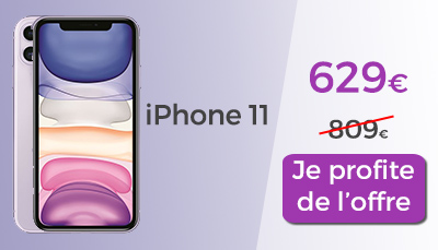 i phone 11 le moins cher en promo