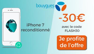 i phone 7 30 euros de remise