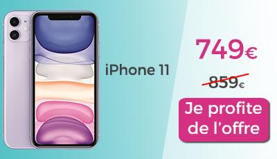 iphone 11 en promo le moins cher