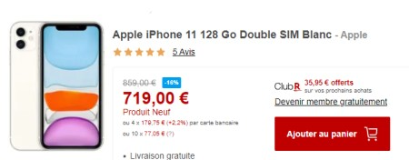 iPhone 11 promo Rakuten
