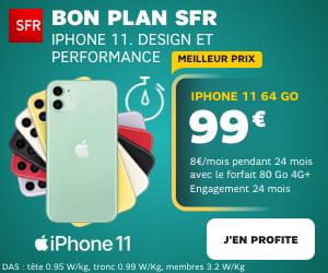 promo iPhone 11 SFR