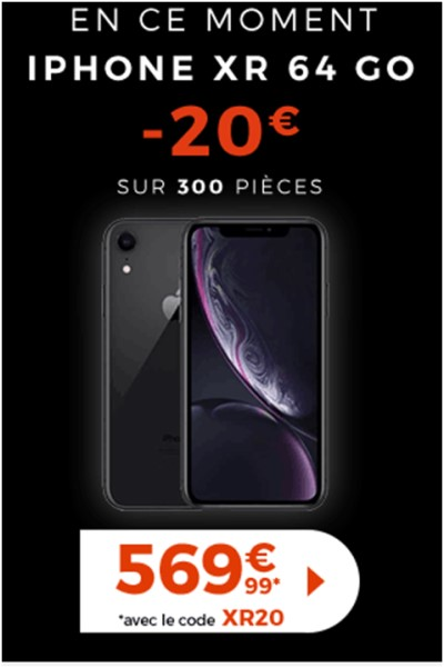 iPhone Xr Cdiscount