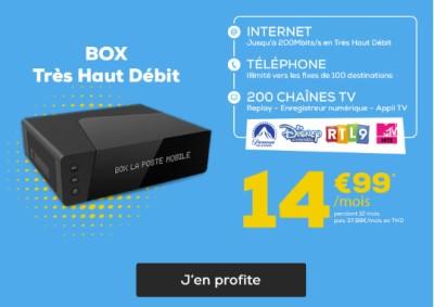BOX La Poste Fibre promo