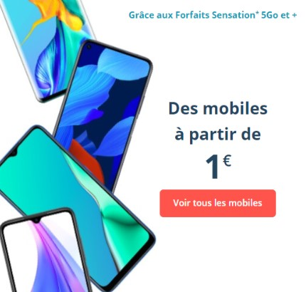 Smartphone Bouygues