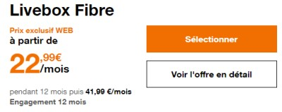 Livebox promo Orange