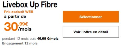 Orange Livebox Up Fibre