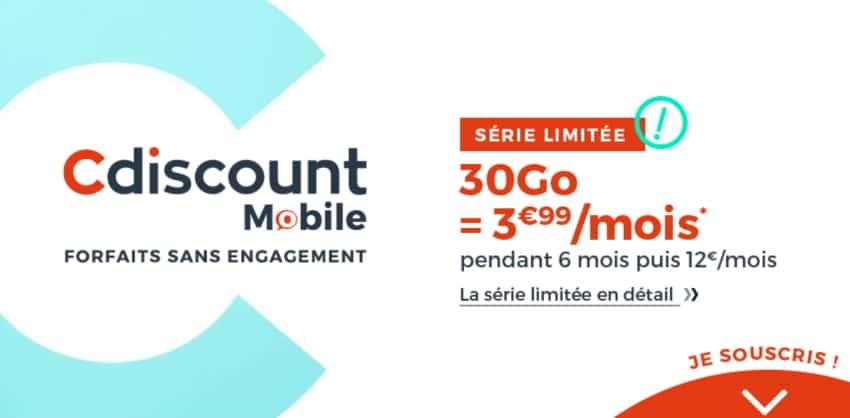c discount offre 30 go