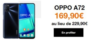 Promo Oppo A72