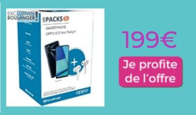 Pack Opo A72 Noel