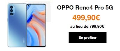 Oppo reno 4 Pro 5G promo orange