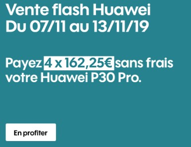 Huawei P30 Pro promo SOSH