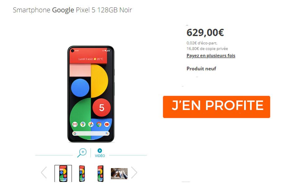 pixel 5 google smartphone