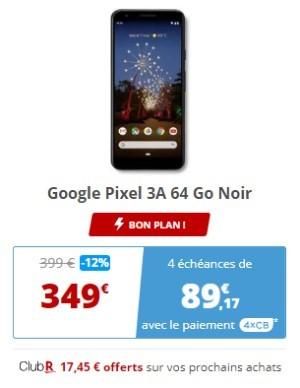 google Pixel 3A Rakuten promo