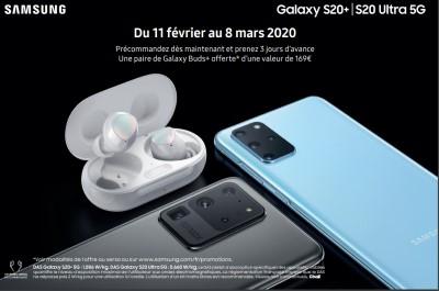 Precommande Galaxy S20