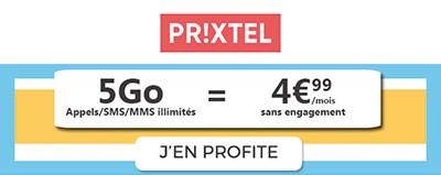 Forfait Le Complet 5Go à 4.99 euros