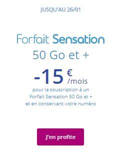 Forfait Sensation BT 50Go