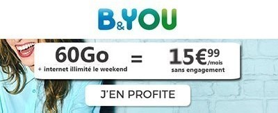 Forfait B&You 60Go