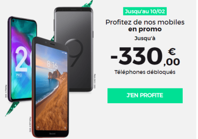 Promos Smartphones RED by SFR