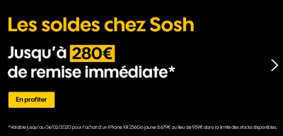 Soldes Smartphones SOSH