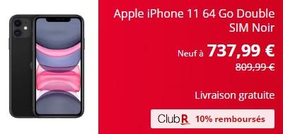 iPhone 11 french Days Rakuten