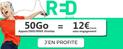 Forfait RED 50Go