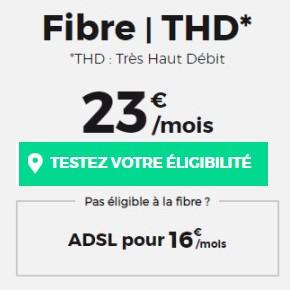Fibre et ADSL RED by SFR