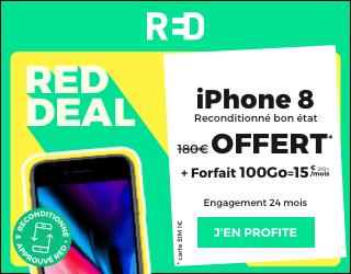 red deal iphone 8 offert