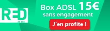RED BOX ADSL 15€