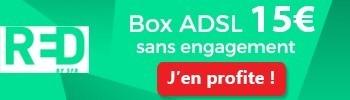 La RED BOX dès 15€ par mois