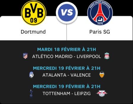 RMC Sport match de foot PSG vs Dortmund