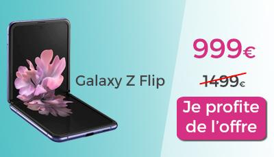 Galaxy Z Flip Boulanger