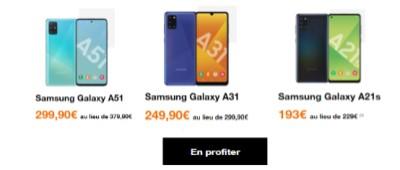 Promos Samsung Galaxy Orange