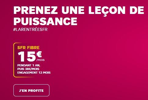 SFR box Starter Fibre 15€